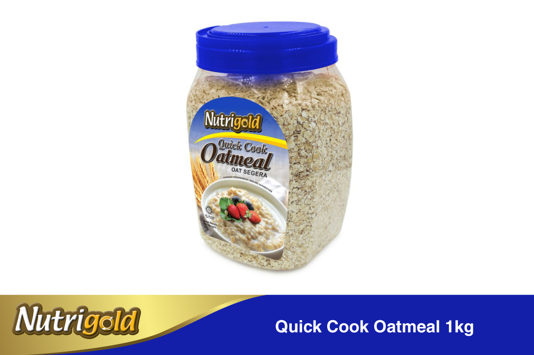 Quick Cook Oatmeal-1kg(jar)
