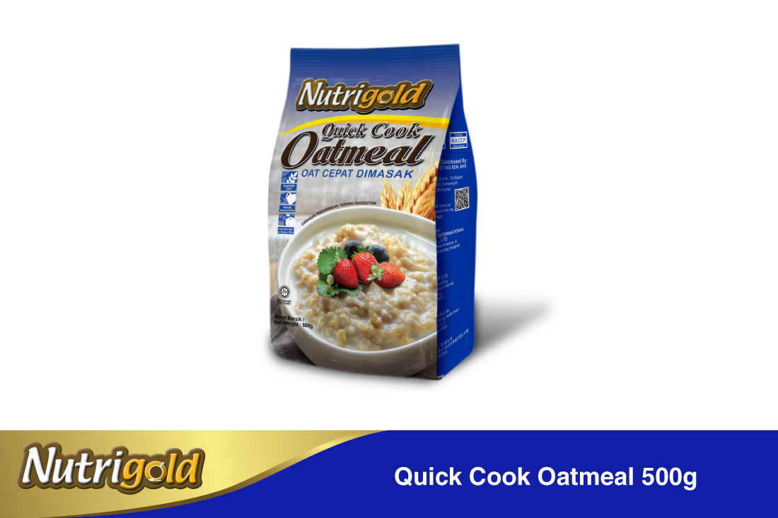 Quick Cook Oatmeal-500g(pouch)