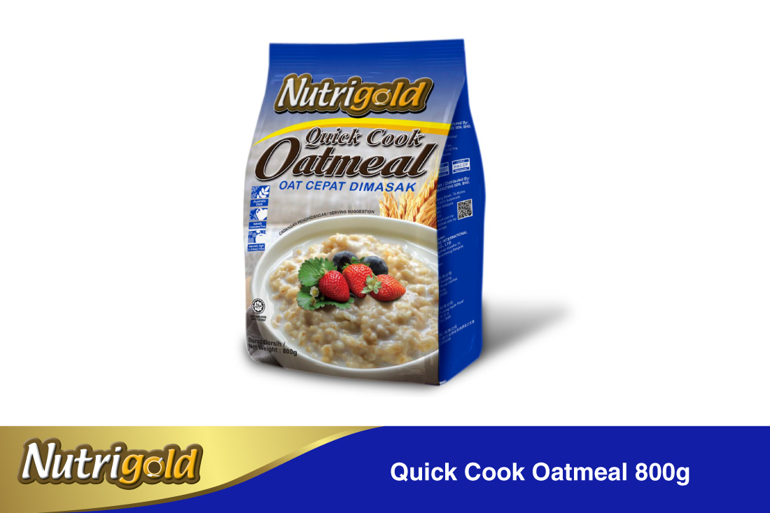 Quick Cook Oatmeal-800g(pouch)